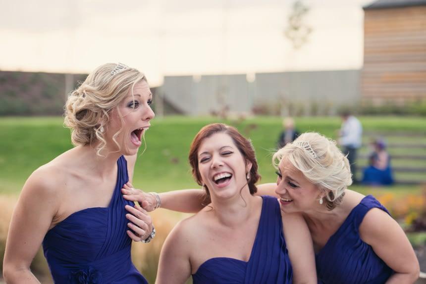 joking bridesmaids