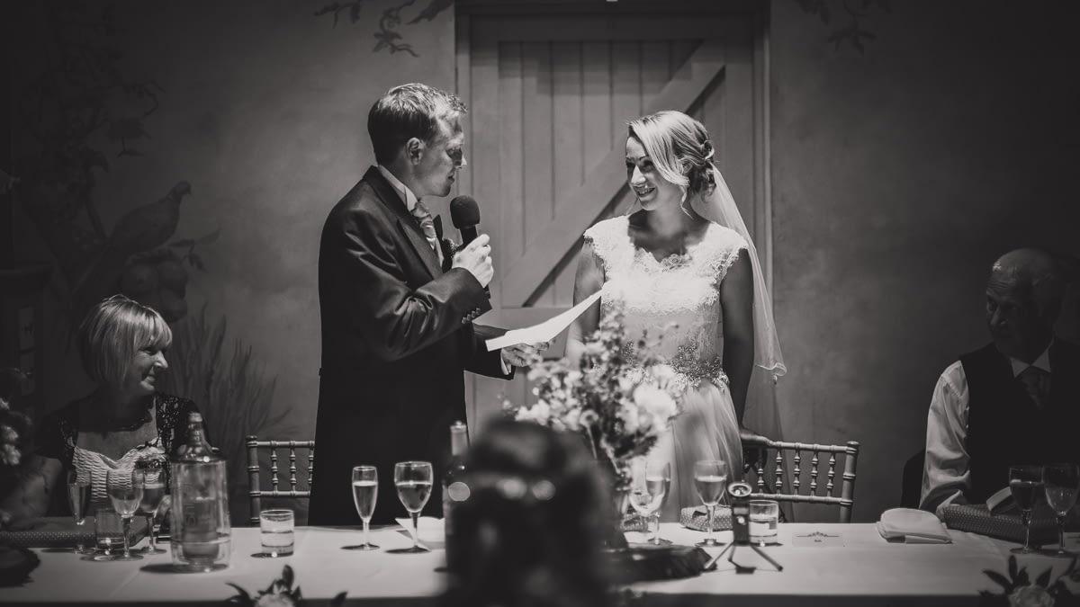 groom's speech to bride