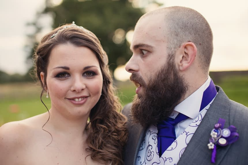 bride with brother