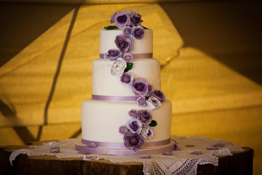 wide cake shot