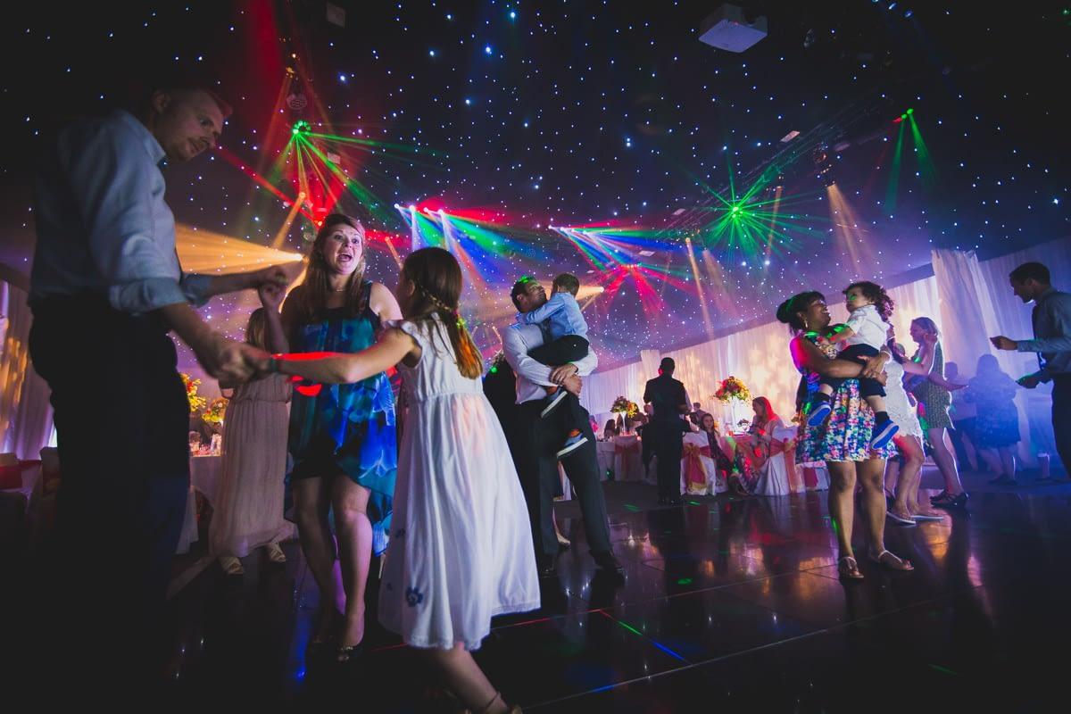dancing under lights