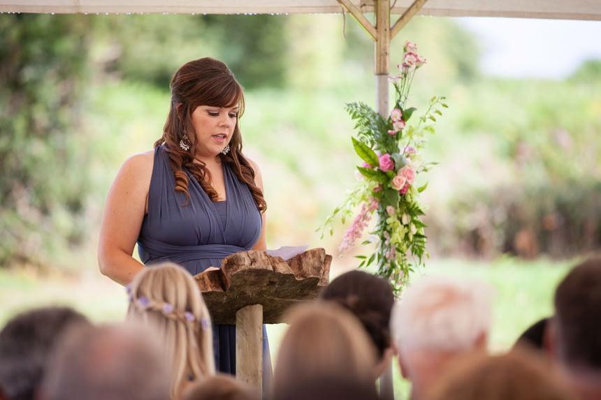 Bridesmaid reading