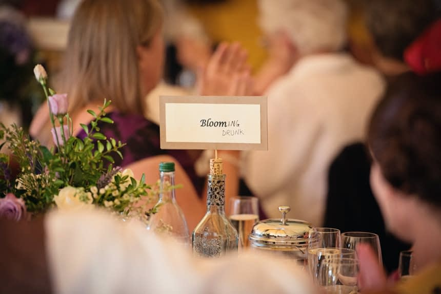 table name drawn on to be funny