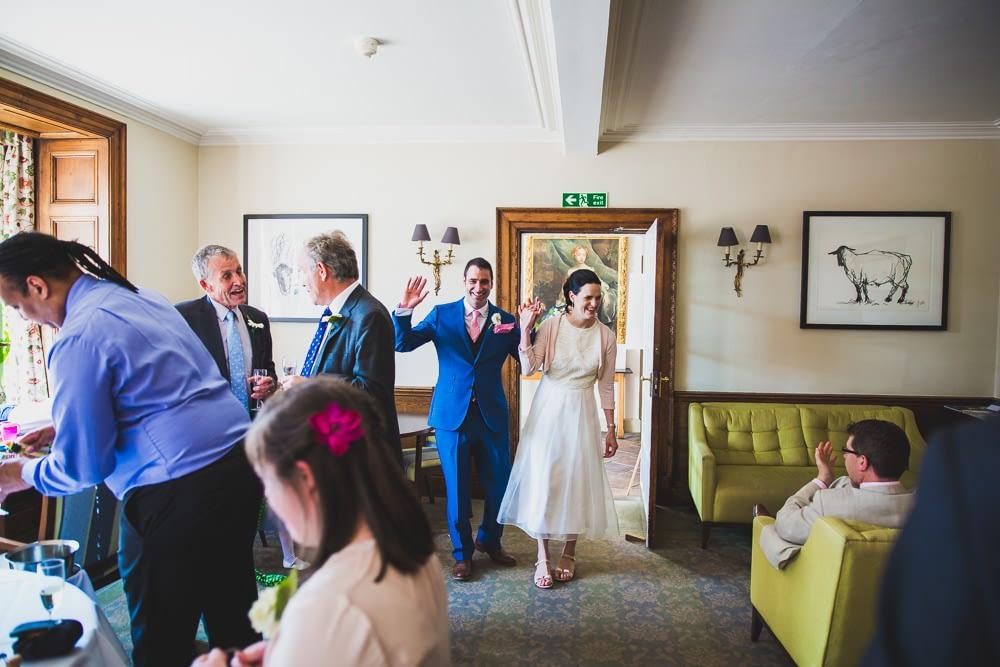 couple entering room