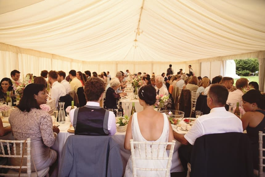 reception meal