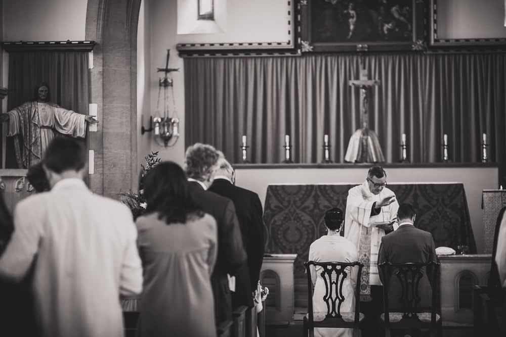 vicar blessing couple