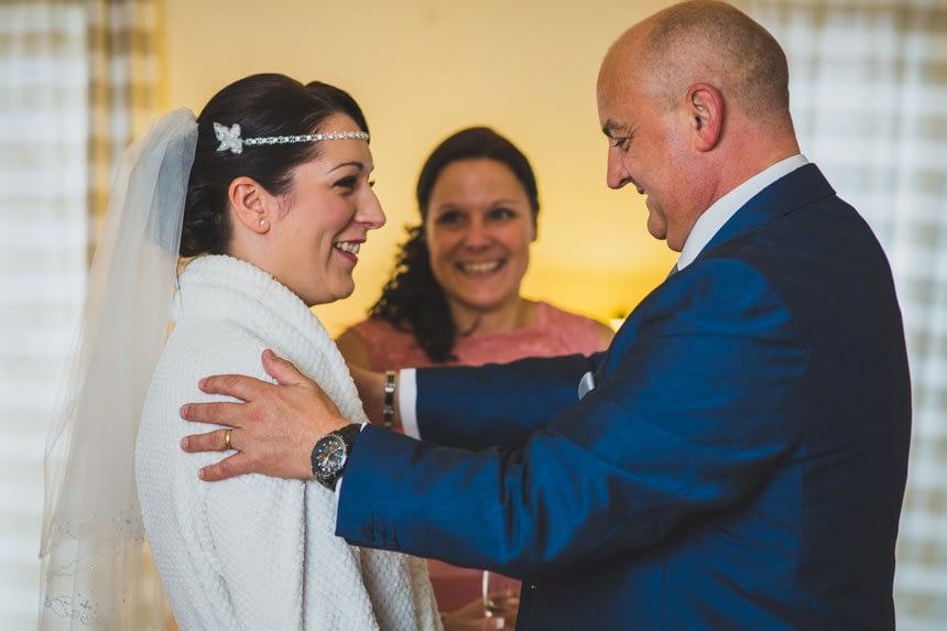 groomsman and bride