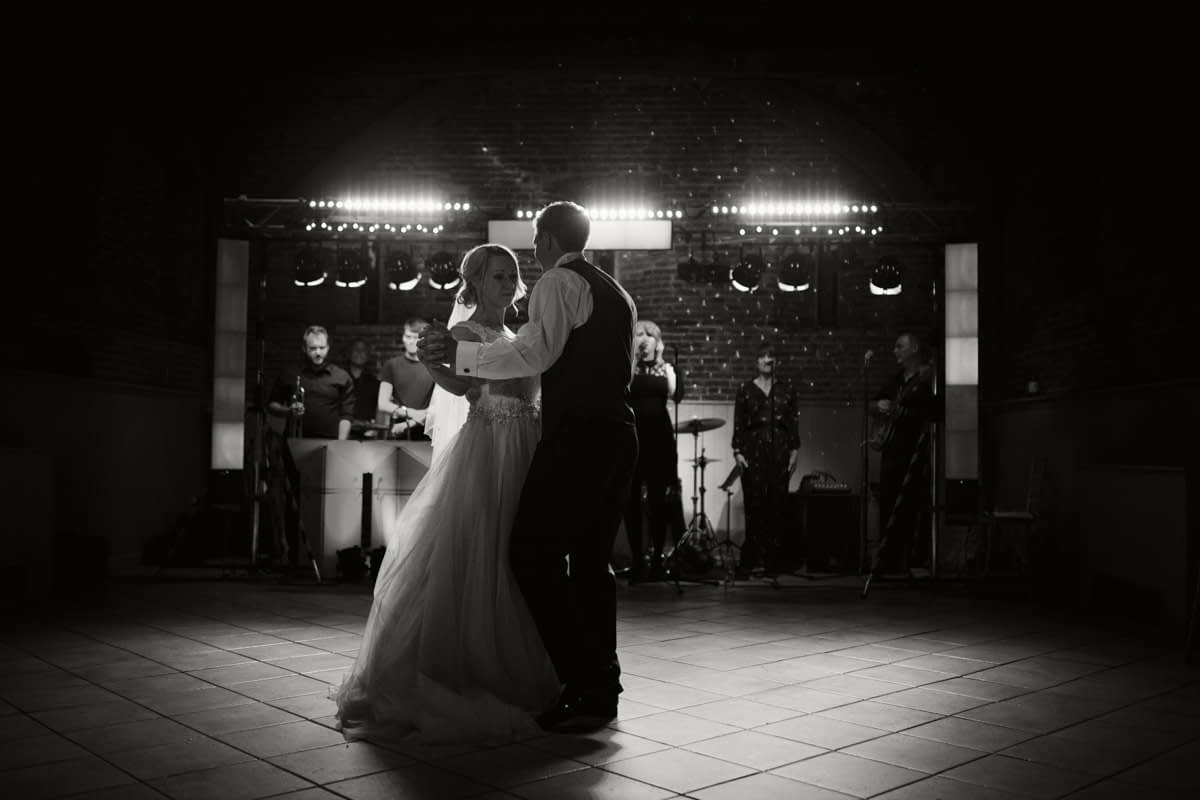first dancing black and white