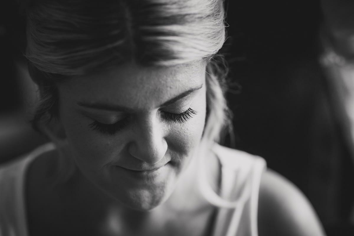 close up bride