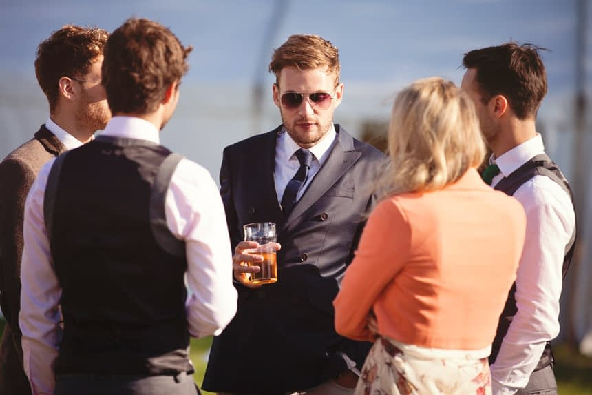 guest in sunglasses